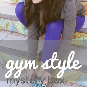 gym style mystery box - 4 pieces